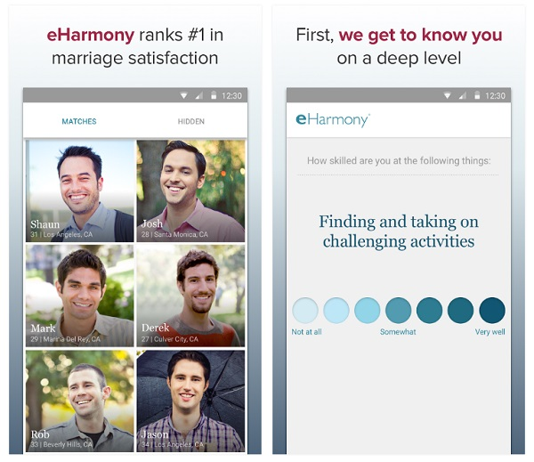 Eharmony app for ipad