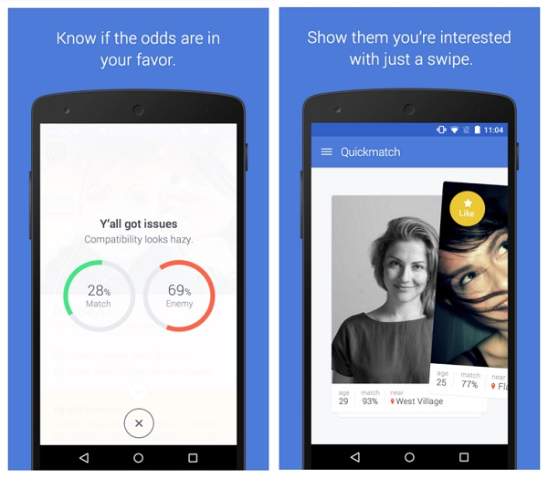 Image result for OkCupid mobile app