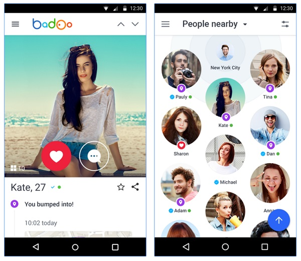Badoo Android App screenshot 1
