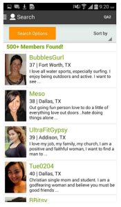 Singleparentmeet Android app screenshot 3