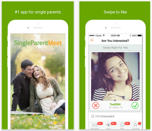 Singleparentmeet iPhone app screenshot 1