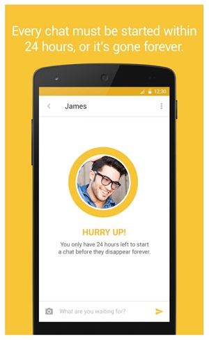 Bumble Android app screenshot 3