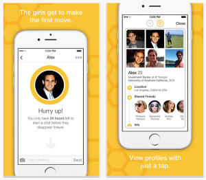 Bumble iPhone app screenshot 2