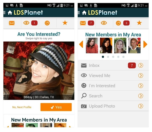 LDSPlanet Android App Screenshot 2