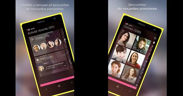 Meetic Windows Phone App Screenshot 1