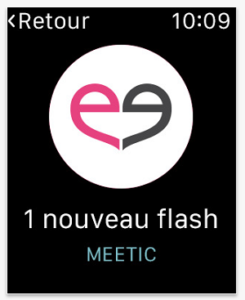 Meetic Apple Watch App Screenshot 2