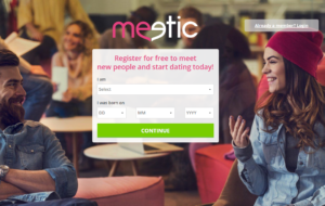 Meetic Website Screenshot