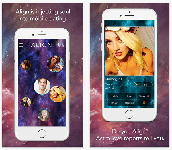 Align iPhone Dating App 1