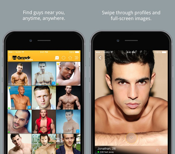 from Drew gay dating app grindr