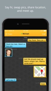 Grindr App for iPhone 3