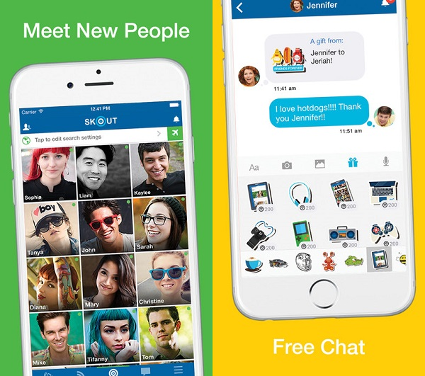 Skout App for iPhone 1