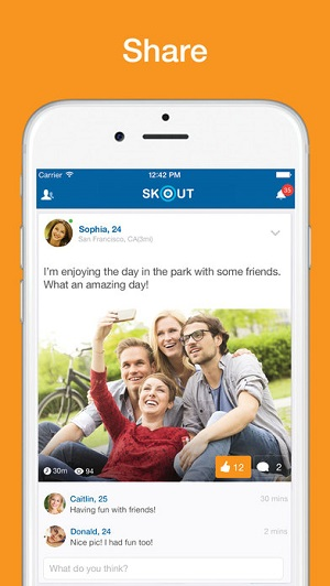 Skout iPhone App 3