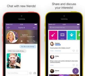 MeetMe iPhone and iPad App 1